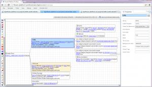 Editorul de metamodel, care configureaza sistemul de generare de fisiere.